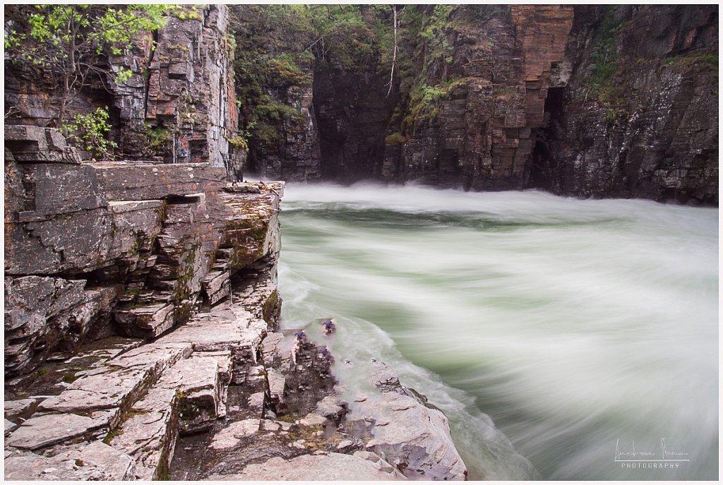 Kanjon Abisko looduspargis, Rootsi